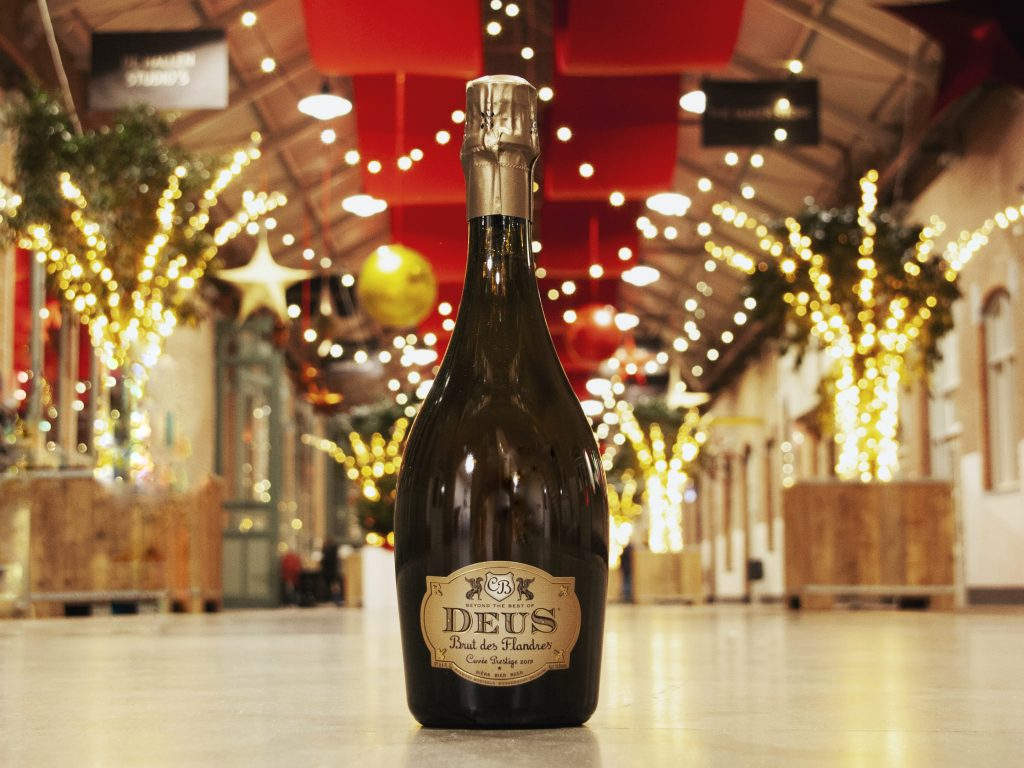 deus brut bottle