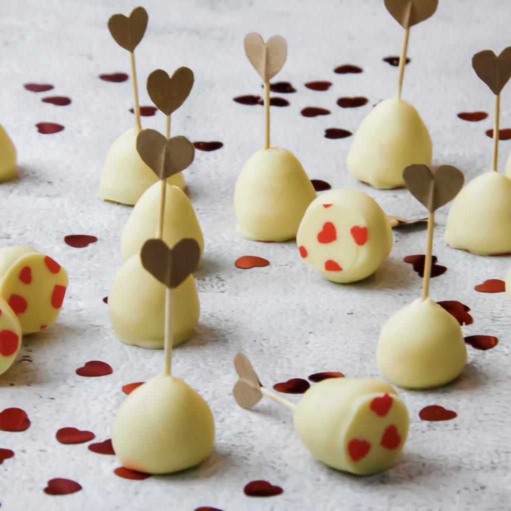 witte chocoladetruffels