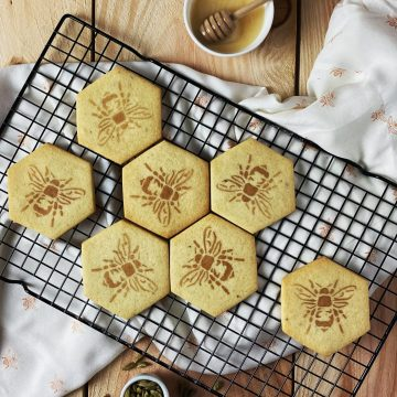 honey cardamom cookies