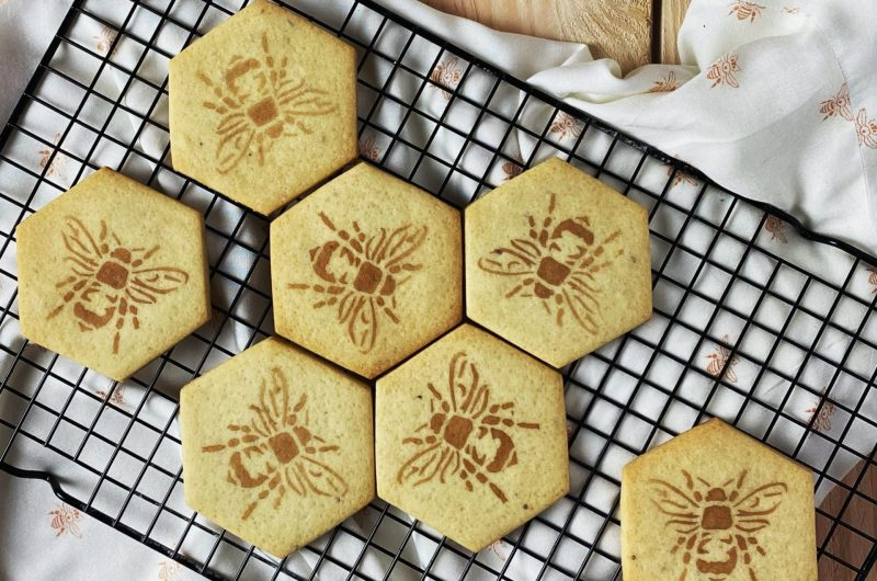 Honing-kardemom koekjes